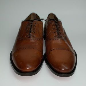 Zara Cap Toe Oxford Brown Size: 8 Retail for $245